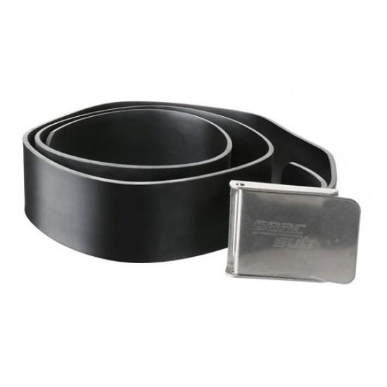 Seac Steel Buckle Rubber Belt
