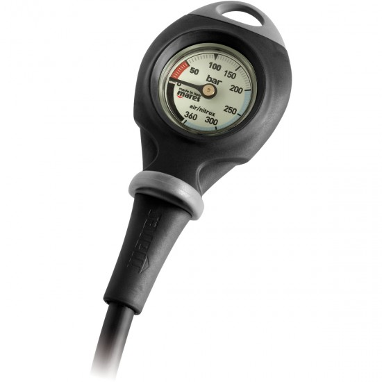 Mares Mission 1 Compact Pressure Gauge, Metric (BAR)